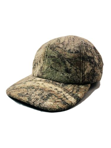 Vintage Filson Wool Hunting Fishing Camouflage Hat