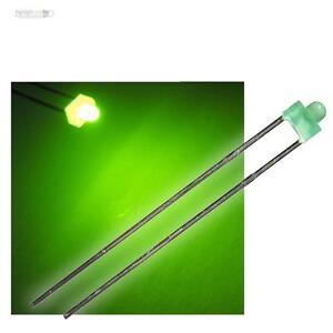 50-Leds-1-8mm-Verde-Difuso-en-Set-Emisores-Verde-Difuso-LED-Green-Vert