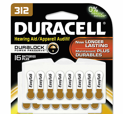 Best Tablet For The Money 2020 16 New Genuine Duracell Hearing Aid Batteries 312 Pack Of 16 Easy