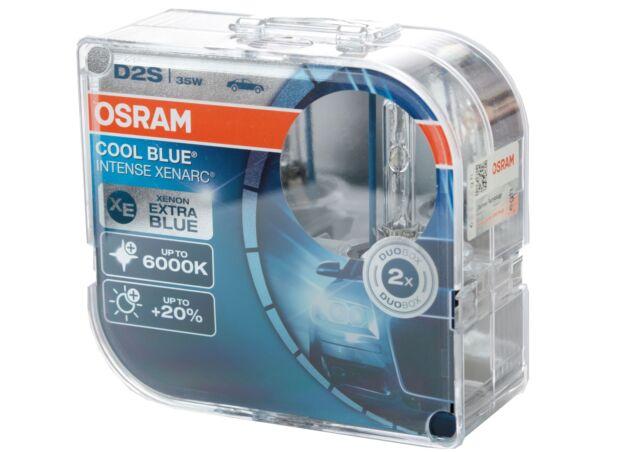 2x OSRAM D3S Cool blue intense xenarc 6000 Kelvin xenon brenner lampe