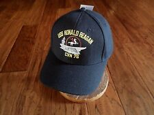 #1637 USS Ronald Reagan CVN-76 Ballcap Cap Hat