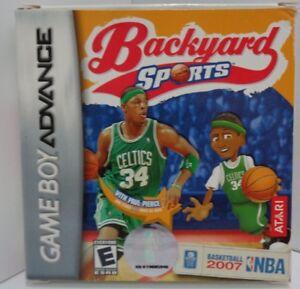 Image Is Loading Game Boy Advance BACKYARD SPORT BASKETBALL 2007 NBA