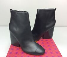 9b02a3d013171f item 5 TORY BURCH Grove 100 MM Bootie Boots size 10 Black Leather Block  Heel ankle -TORY BURCH Grove 100 MM Bootie Boots size 10 Black Leather  Block Heel ...