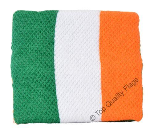 WRISTBAND Ireland Flag SWEATBAND 7x8cm