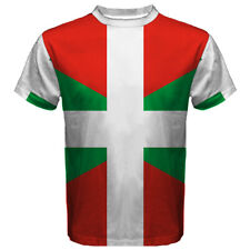 Bilbao Vitoria ES Euskadi Basque Country Long Sleeve T-shirt LS Men Youth