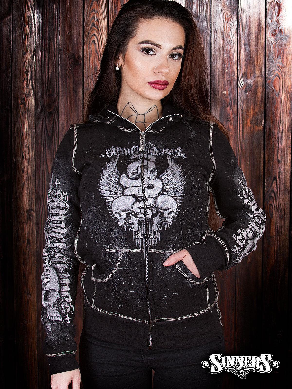 Women's Gothic Harley Davidson Bikers Hoodie