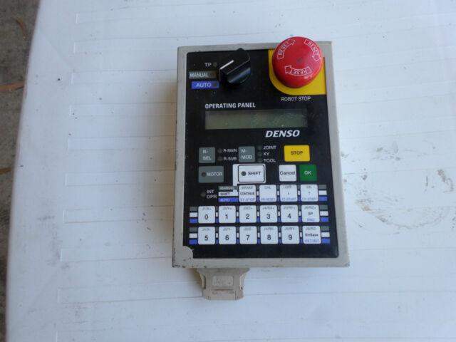 DENSO ROBOTIC CONTROL PENDANT - OP-RC5-1 -- 410110-0200