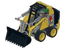 Bauanleitung instruction Bobcat 8043 42030 Eigenbau Unikat Moc Lego Technic