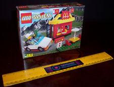 VINTAGE RARE LEGO 3438 McDONALD'S DRIVE THRU McDONALDS RESTAURANT - BRAND NEW