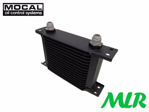 MOCAL 16 ROW 115MM UNIVERSAL ENGINE OIL COOLER -12 JIC OC1167-12 ADH