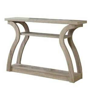 Image Is Loading Monarch Modern 3 Shelf 47 034 Wood Console