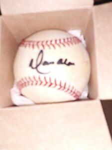 Moises Alou  autographed Baseball.   Never displayed