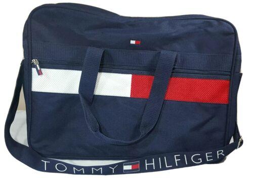 Vintage Tommy Hilfiger Messenger Bag Backpack Flag