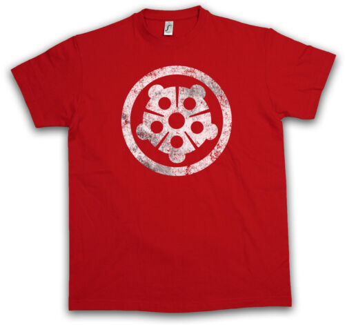 HAMATO CLAN LOGO T-SHIRT Teenage Splinter Mutant TMNT Ninja Hero Turtles Shirt