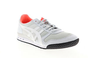 Onitsuka-Tiger-Ultimate-81-HN567-9601-Womens-Gray-Mesh-Low-Top-Sneakers-Shoes