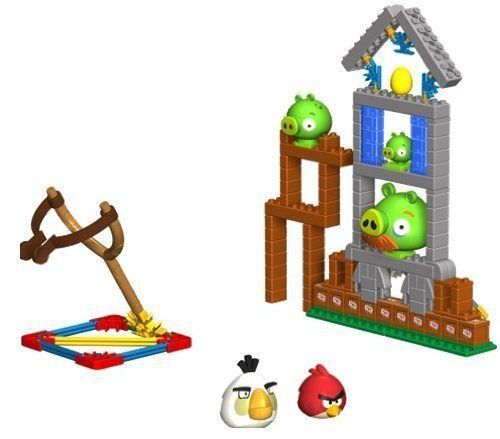 K/'NEX Angry Birds Mini Figures Building Set KING PIG ANGRY BIRDS TOYS