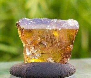 Natural Gem Grade Sphene Crystal, Rare Titanite from Pakistan, 6ct, US SELLER