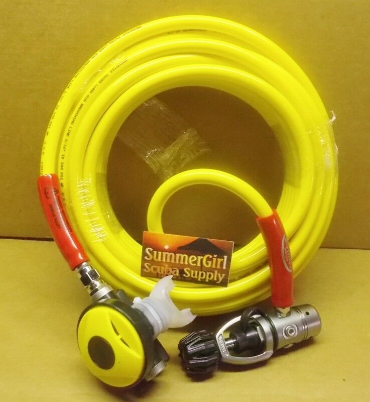 Brownie's 100ft Octo Hose with 1st & Second Stage Regulator, No Tank
