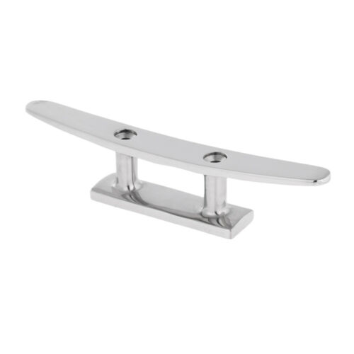 """Boat Cleat 6/"""" Flat Top 316 Stainless Steel Marine Boat Hardware"""