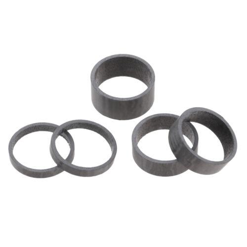 """8 /""""Fahrradscheiben 5//10 5X Bike Headset 28,6 mm Vorbau Distanzscheiben 1 1"""