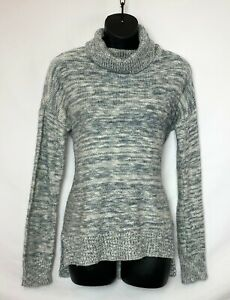 NEW CHAPS Womens Soft Cotton Turtleneck Sweater Black Pink Blue M L XL XXL $50