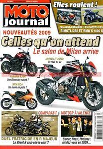 MOTO-JOURNAL-1830-Essai-TRIUMPH-675-Street-Triple-YAMAHA-950-XVS-Midnight-Star