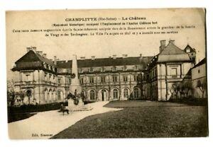 CPA 70 Haute-Saône Champlitte Le Château