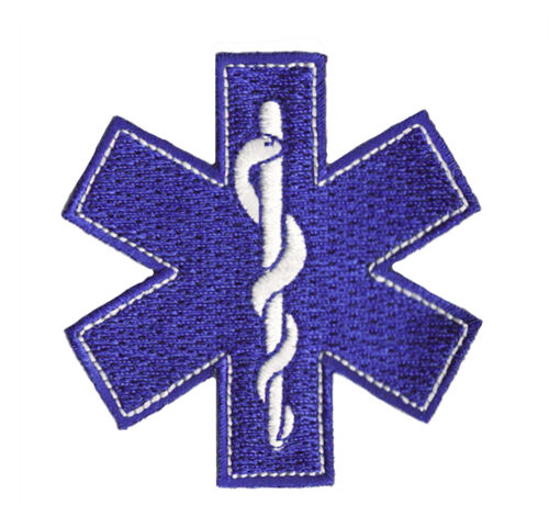 Patch Thermoadhesive Logo Emergency Doctor Embroidered
