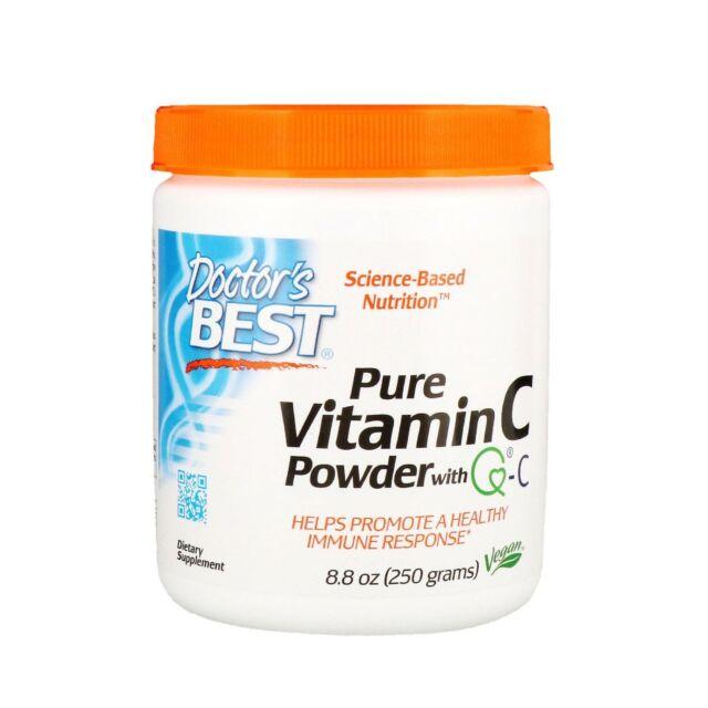 Doctor's Best Pure Vitamin C Powder with QUALI -C Q-C 250g