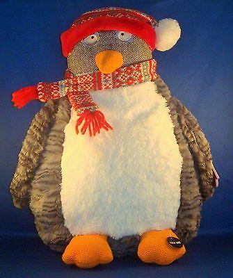 Pier 1 Imports - Talking Dodger the Penguin Plush - Stuffed Animal - *No Sound*