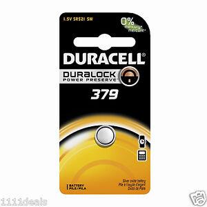 6 x Varta V379 SR521SW SR521 SR63 AG0 Silberoxid Knopfzelle Uhrenbatterie