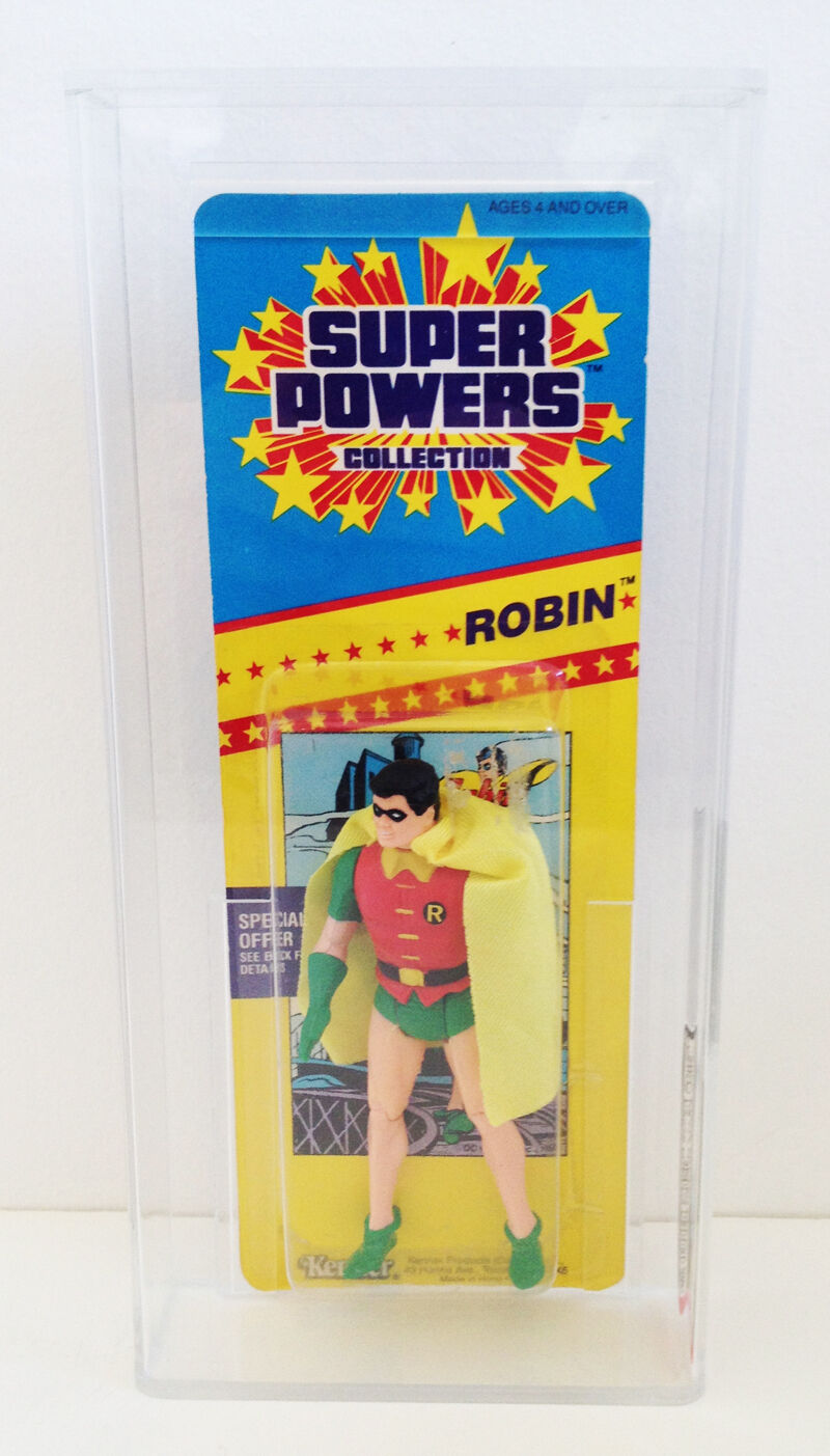 Kenner Super Powers Collection Robin Batman Action Figure 1986 AFA Graded 75