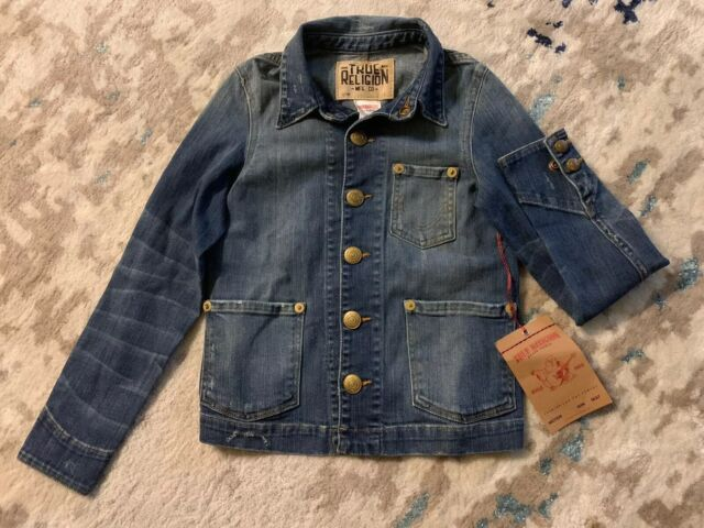 True Religion Kids Jeans Jacket Size M | eBay