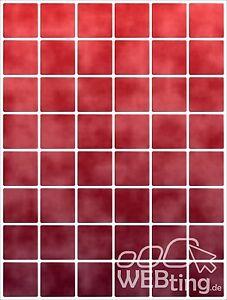 15x20cm rot fliesenaufkleber fliesen aufkleber - Mosaik fliesen rot ...