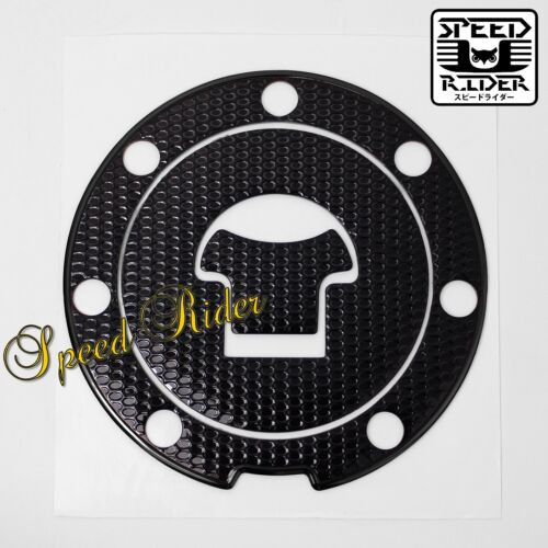 FOR 03-16 CBR-1000RR//600RR PERFORATED BLACK GAS CAP FUEL LID COVER PROTECTOR PAD