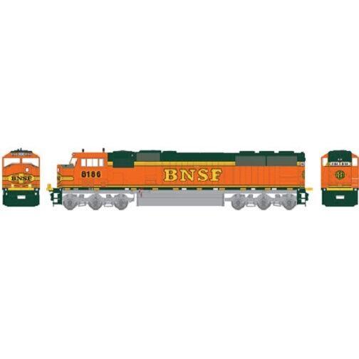 Athearn Genesis    67299 SD60M BNSF/Heritage II   8186   HO MIB
