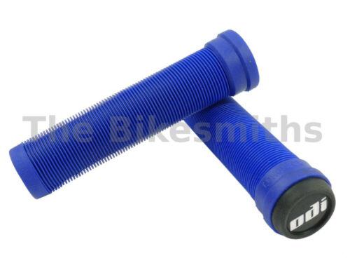 ODI Soft Flangeless Longneck Grips BMX MTB Hybrid Bike Scooter Softies No Flange