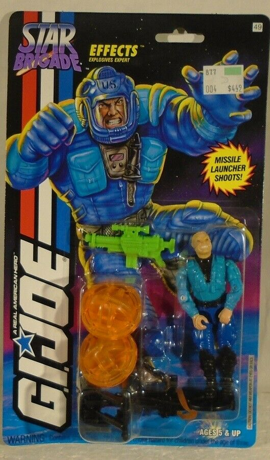 GI Joe Star Brigade Effects Explosives Expert Hasbro Vintage 1994 (MOC) ARAH