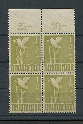 M383 Romantisch All.bes 959 C P Or Dgz Gute Farbe Or-4er-block Postfrisch ** Mnh Mi 62.