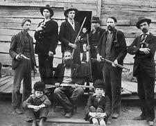 "Hatfield Men of the Hatfield and McCoy Family Feud Hillbilly 8""x 10"" Photo 21"
