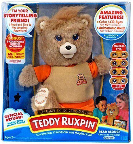 Teddy Ruxpin Bear Storytelling, Friendship, and Magical Fun exclusive original o