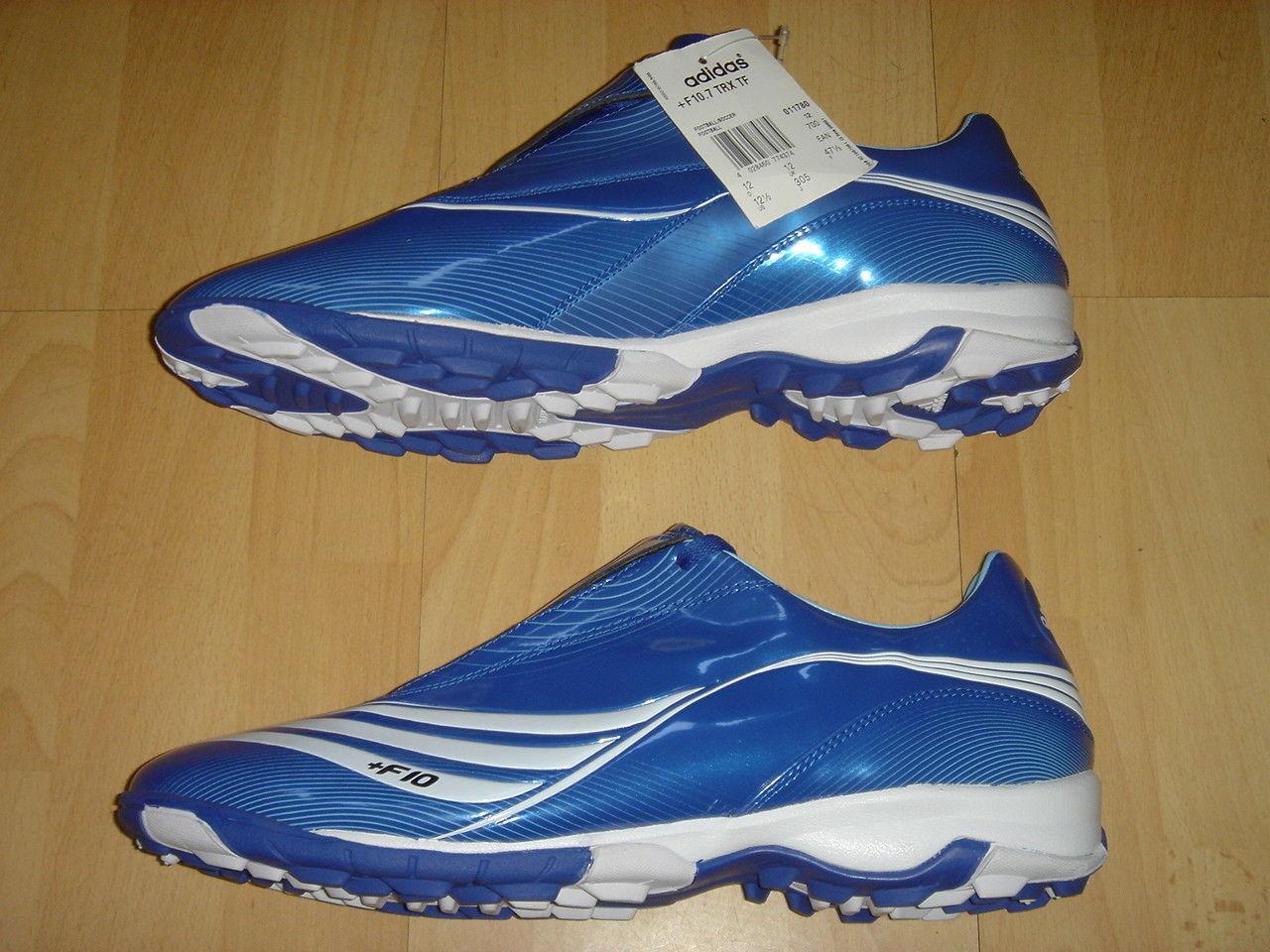 Adidas Soccer Shoes F10.7 TRX TF Football Astros Blue New