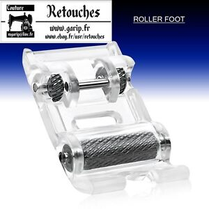 pied roulette pour en cuir pvc machines coudre brother singer toyota ebay. Black Bedroom Furniture Sets. Home Design Ideas