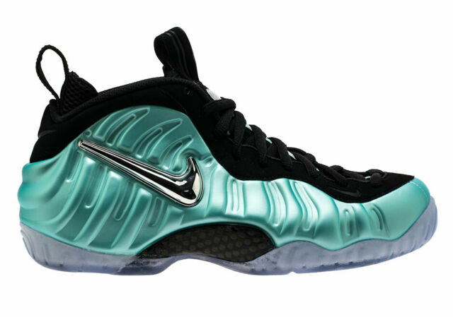 separation shoes d753a fb20c NWB Men 2017 Nike Air Foamposite Pro Island Green/Platinum 624041-303 (Size  14)