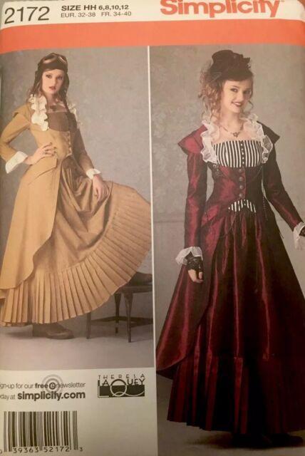 simplicity 1773 Medieval Huntress Fantasy Costume Pattern 6-14