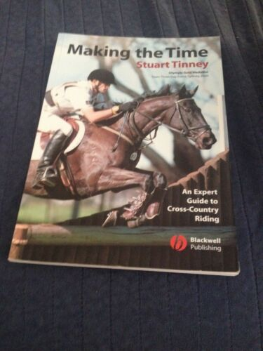 1 of 1 - STUART TINNEY SIGNED BOOK, MAKING THE TIME. 1405102926
