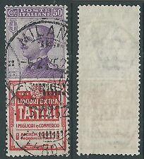 1924-25 REGNO USATO PUBBLICITARI TANTAL 50 CENT - Y133