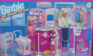 Barbie-Soo-Much-To-Do-Post-Office-New-Sealed