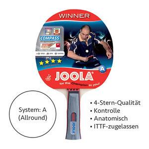 JOOLA-Winner-Tischtennis-Schlaeger-anatomischer-Griff-Bat-Holz-Kelle-TT