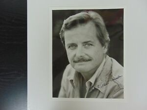 """Entertainment Memorabilia Television Elsewhere"""" William Daniels Hand Signed 8x10 B&w Photo Todd Mueller Coa Bright And Translucent In Appearance """"st"""